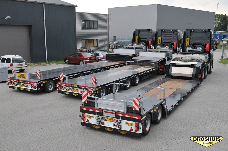 3x SL-Trailers for HLS Almelo (NL)