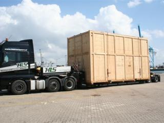 Transport turbine HLS Transport
