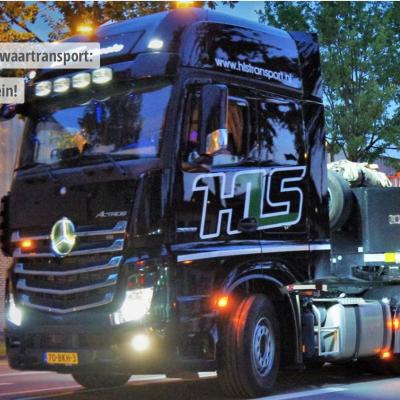 BIGtruck Zwaartranport -Als een trein! HLS Transport